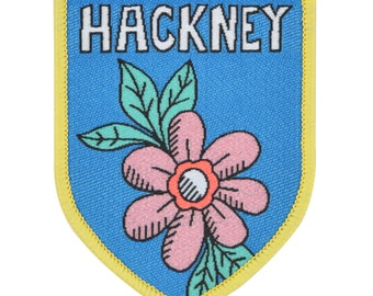 Hackney Iron-on Patch