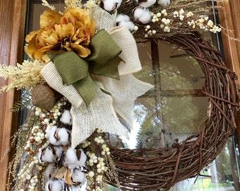 Warm Autumn Day wreath