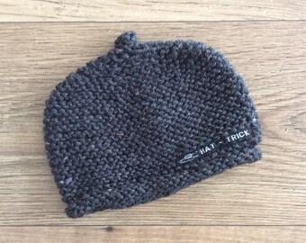Beanie, baby beanie, baby hat, baby knit hat, kids' beanie, kids' hat, kids' knit hat, hat-trick beanie, knitted beanie, Melbourne