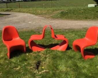 Vitra - Verner Panton Chairs reproduction Retro