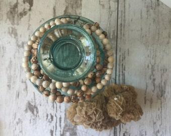 Stone Multi-strand Bracelet