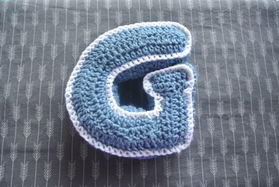 The Alphabet Crochet Pillows
