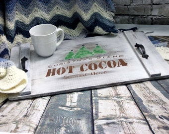 Hot Cocoa Serving Tray