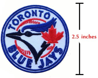 Toronto Blue Jays Patch Embroidered  Sport Iron On Sew On Patches