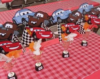 Disney Pixar 3D Cars Centerpieces