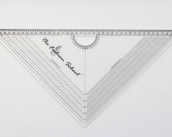 Pattern making grading square