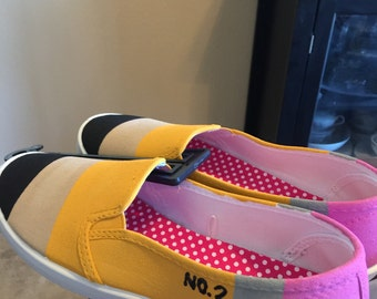 Pencil shoes slip on