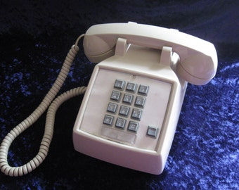 SALE Vintage Bell System Western Electric Touch Tone Phone