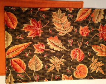 Beautiful Autumn Leaves Placemats in sets of 4, 6 or 8