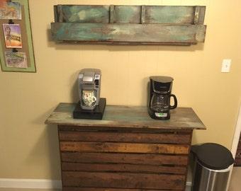 Rustic Coffee Station / Bar