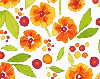 CLEARANCE - Maywood Studio - Wild by Nature Collection Blossoms and Dots