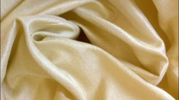 JSilk00003-Light yellow beige color