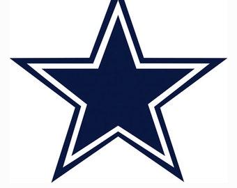 30% OFF Dallas Cowboys Logo SVG Eps Dxf Jpe Format Vector Digital Download File Silhouette ...