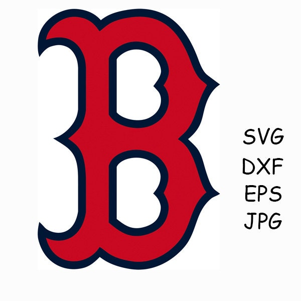 boston red sox layered svg png dxf logo vector cut file