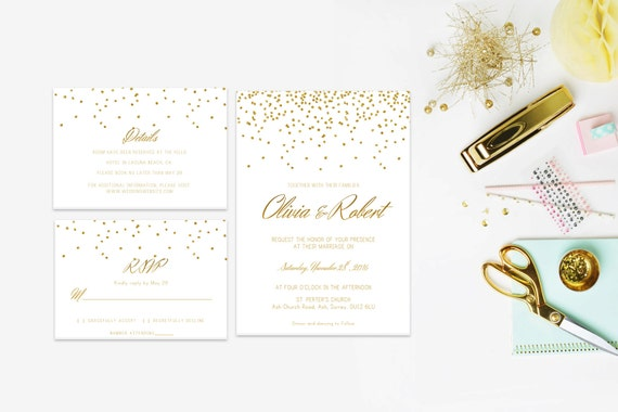 Glitter word invite,INSTANT DOWNLOAD, Editable Wedding template invitation. Microsoft Word template.Wedding Printable