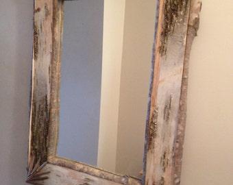 Birch Bark Mirror #5