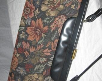 60's Autumn Colors Tapestry Handbag