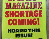 Mad Magazine Shortage Coming Hoard This Issue Mar 1981 No. 221 Issue