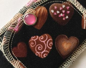 New!!! Gimme Chocolate! Organic Daypad Moonpads Reusable Cloth Menstrual Pads