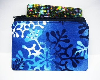 Snowflake portefeuille, ziper cardholder, small coin purse, women wallet, business id credit card case, id1370633, portemonnaie, pouch, gift