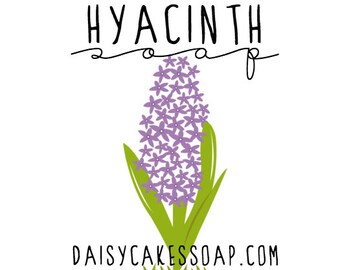 Hyacinth Soap, with Olive Oil and Shea Butter