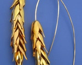 Golden Wheat Earrings