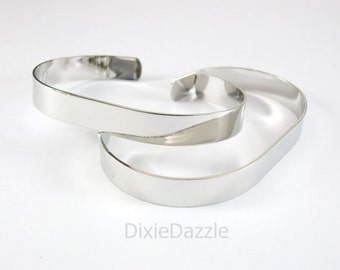 12 cuff bracelets,bracelet base, bracelet blanks, stamping blank, bracelet for wire wrapping,silver, gold, copper bracelet, diy cuff