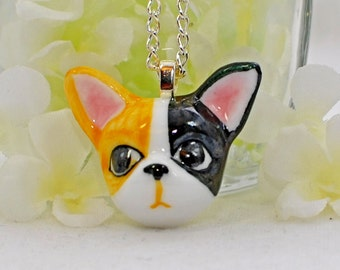 Puppy Dog Necklace Zander - Doggie Necklace - Dog Jewelry - Animal Jewelry - Dog Lover Gift - Dog Pendant - Gift for Her - Cute Dog Pendant