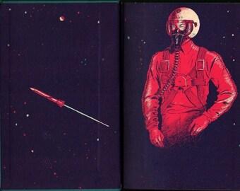 Mike Mars, Astronaut - Donald A. Wollheim - Albert Olbaan - 1961 - Vintage Kids Book