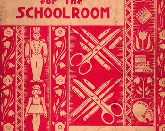 Decorations for the Schoolroom New Edition - 1945 - Vintage Book