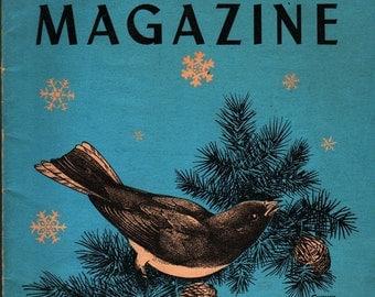 Nature Magazine December 1949 Vol. 42 No. 10 - Frederic Sweney, cover - 1949 - Vintage
