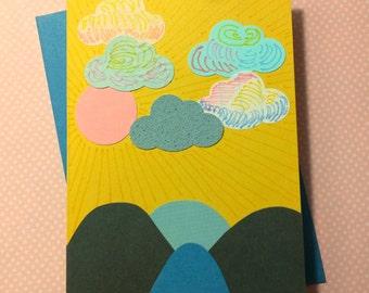 Sunny Skies (Sunrise + Sunset) // Cards For Encouragement