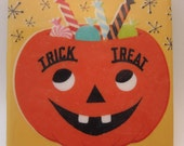 Trick or Treat Halloween Coaster