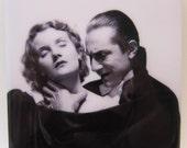 Vintage Dracula Halloween Coaster