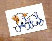 Sealyham Terrier Original Dog Art Cartoon ACEO