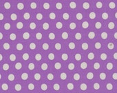 SPOT in GRAPE Polka Dot  GP70 by Kaffe Fassett / Westminster Fabric / 1/2  yard Cotton, Quilt Craft and Apparel fabric