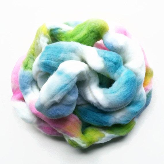BEBE hand dyed merino wool roving 3 ounces