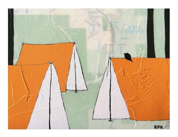 Issaquah Map Print // Camping Art // Map Art // Travel Print // Modern Print // Modern Decor // Modern Nursery // Rachel Austin Art 11x14