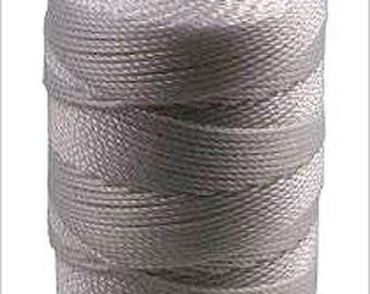 Nickel C-Lon Beading Cord 92 Yards