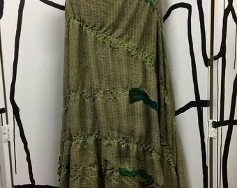 Green With Envy Mottainai Shawl + Blanket Series