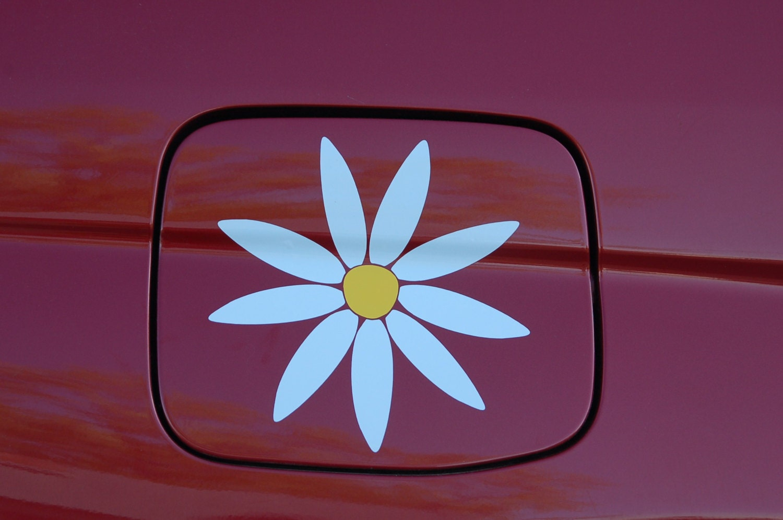 Daisy Flower Decal Sticker In 3 Inch Vinyl By Tonyabug Sticker