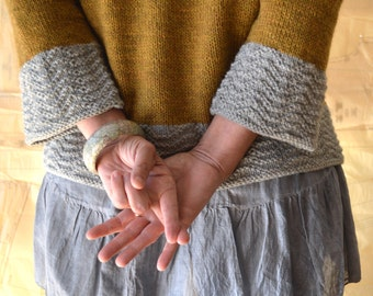 Grainline Pullover Knitting Pattern PDF