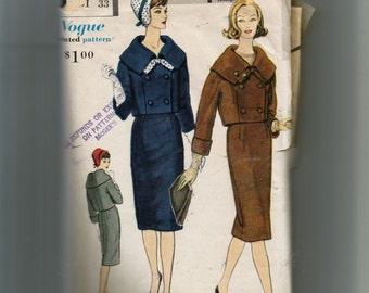 Vogue Misses' Suit Pattern 4943