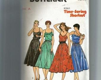 Butterick Junior Dress Pattern 6563