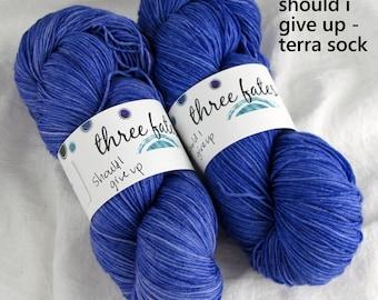 should i give up - terra sock
