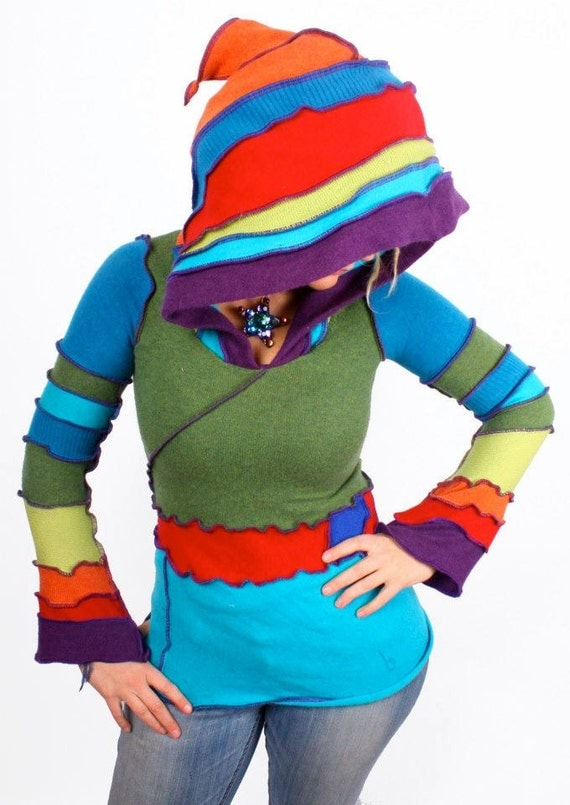 Katwise Hoodie Pattern - Recycled Sweater Ebook