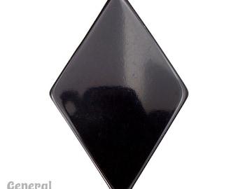 45mm x 68mm Black Rhombus Blank (4 Pcs) #3998