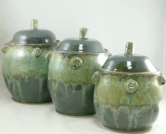 large kitchen ceramic canisters set cookie jar coffee addison ceramic canisters set of 3 free shipping today