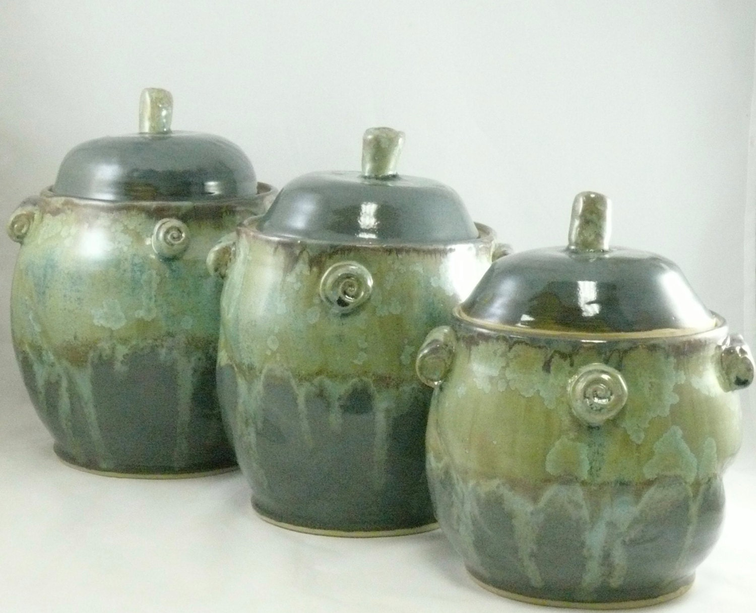 ceramic canisters sets for the kitchen large kitchen ceramic canisters set cookie jar coffee 6325