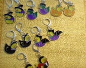 Earrings- Halloween Ducks